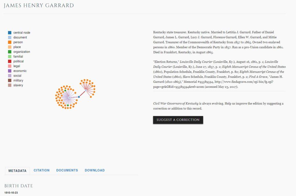 Grants Funding Civilwargovernors